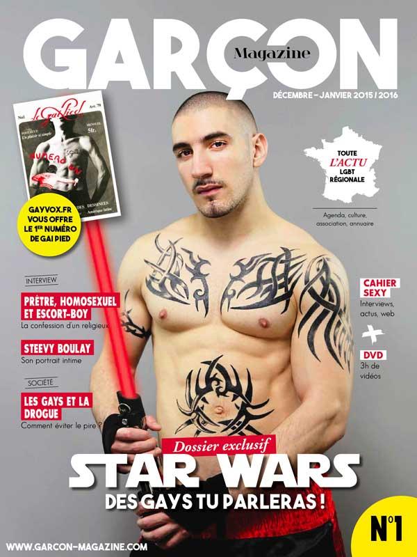 Garçon Magazine N°1, parution du 27 novembre 2015