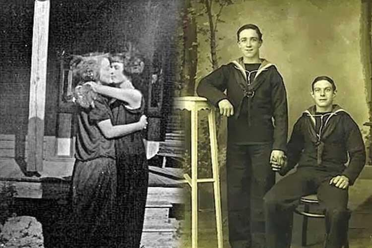 Découvrez ces photos vintages incroyables de Couples Gays