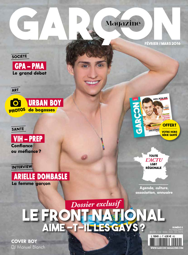 Garçon Magazine N°2, parution du 28 janvier 2015