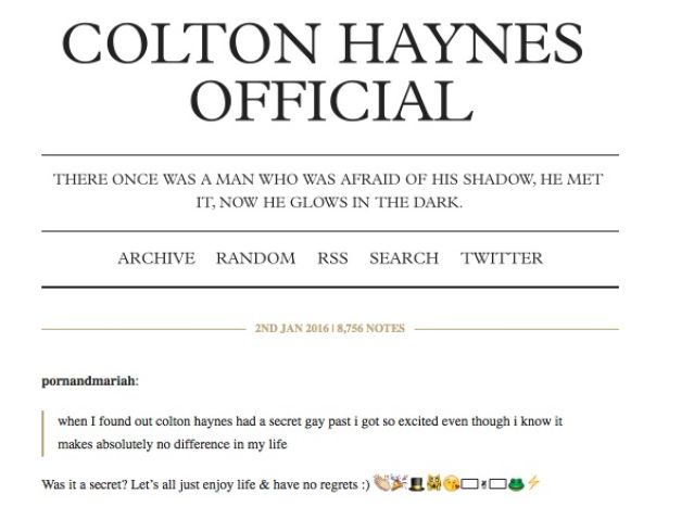 colton haynes timblr garcon magazine