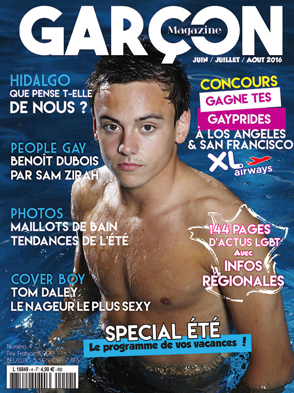 Garçon Magazine N°4, parution du 3 juin 2015