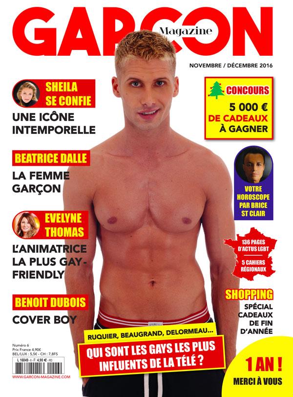 Garçon Magazine N°6, parution du 4 NOVEMBRE
