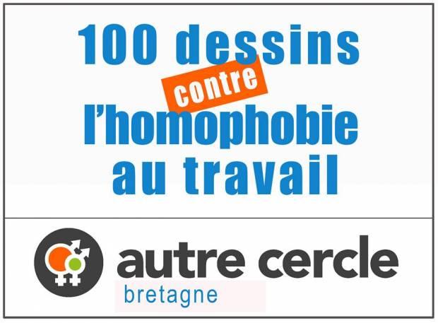 100 dessins pour lutter contre l'homophobie et la transphobie dans le monde du travail