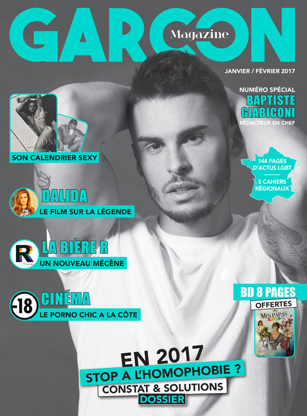 Garçon Magazine N°7, parution du 29 décembre 2016