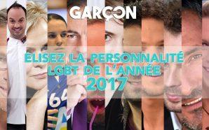 Elisez la personnalité LGBT de l'année 2017