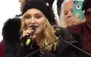 Vidéo : Madonna à un message pour Trump