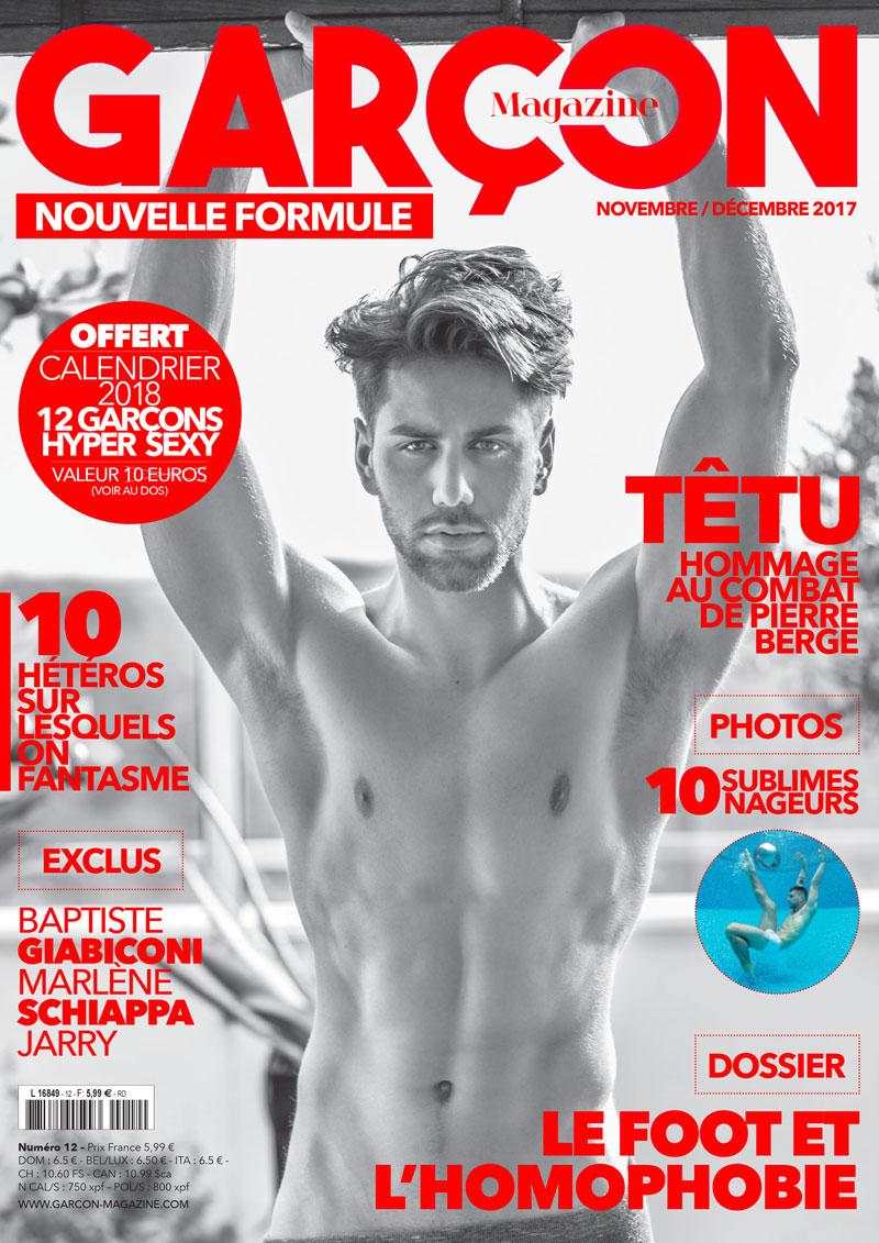 Garçon Magazine N°12, parution du 30/10