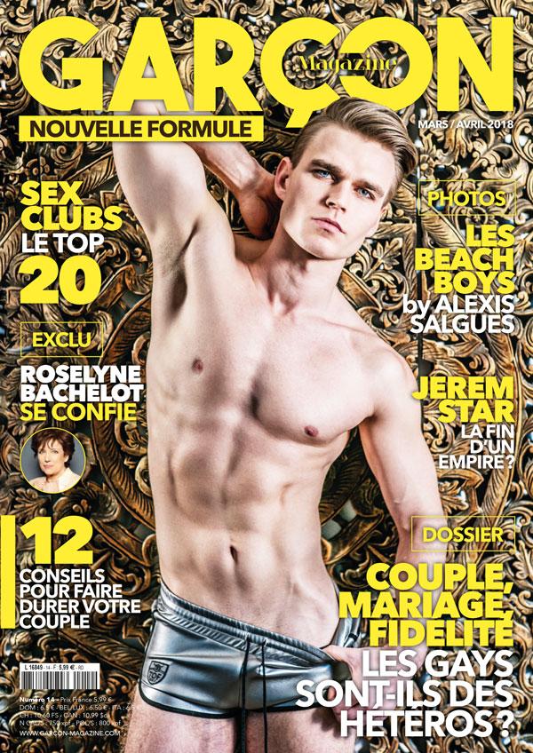 Garçon Magazine N°14, parution du 01/03