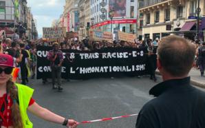 La tête de la Marche des fiertés interdite aux «blancs…