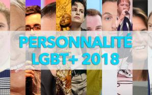 PERSONNALITÉ LGBT+ 2018
