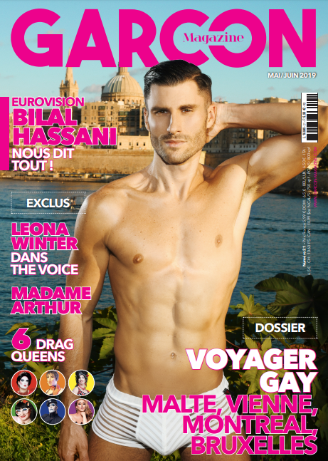Garçon Magazine N°21, parution du Mai/Juin