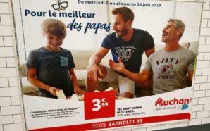Deux papas gays dans une pub Auchan ? Ce n'est…