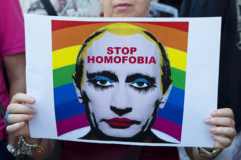 russie propagande homosexuelle