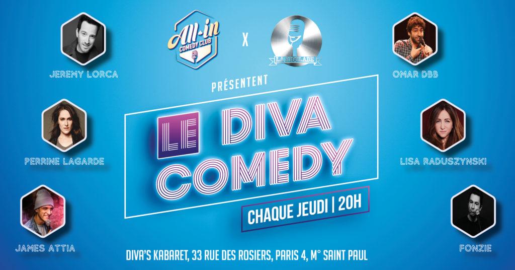 Le Diva Comedy : le nouveau rendez-vous de Stand-Up dans le Marais