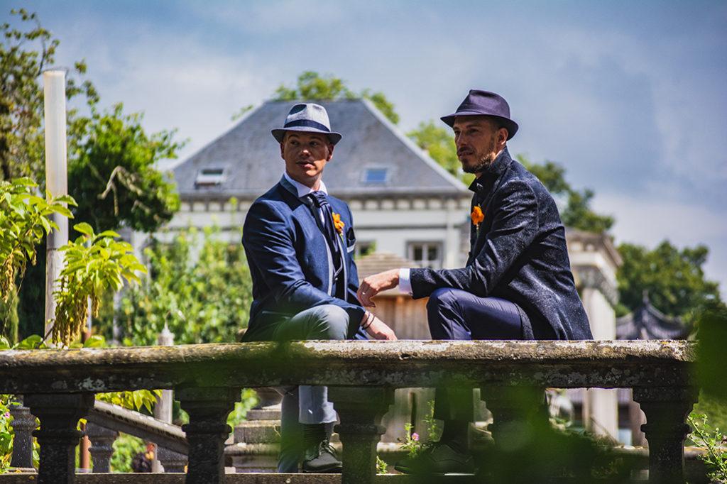 Damien et Olivier