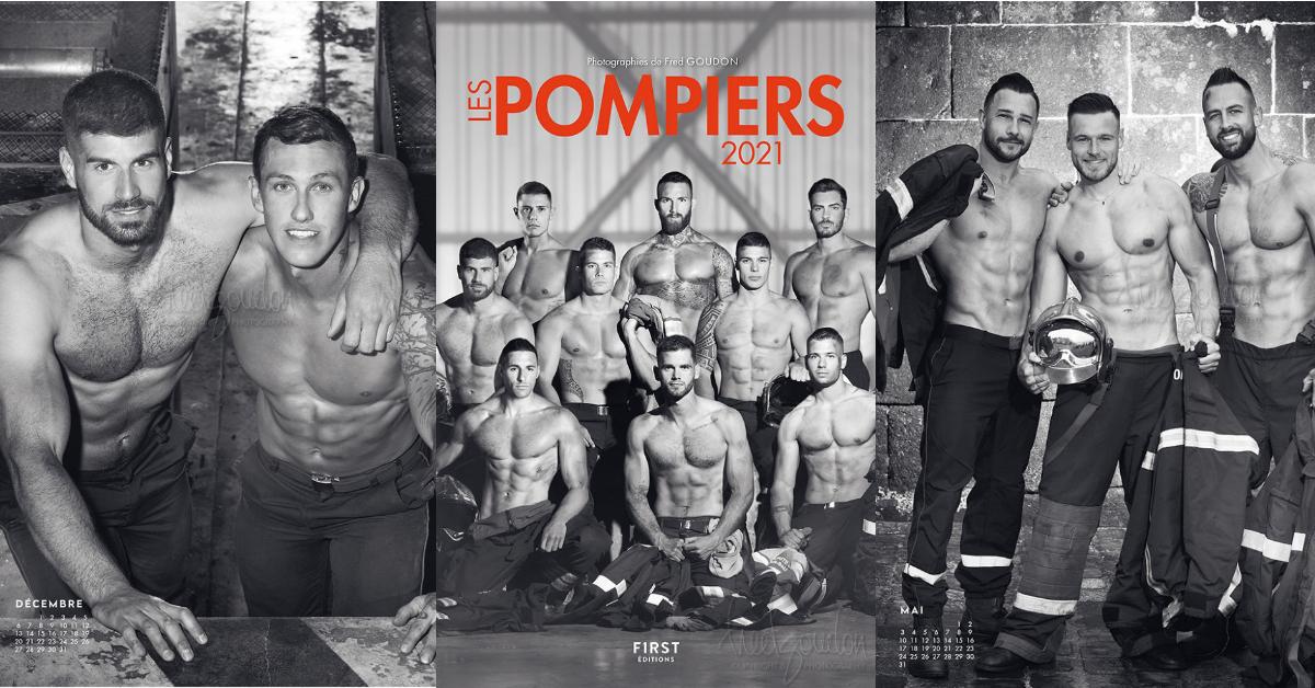 Découvrez le calendrier plus sexy que jamais des pompiers 2021