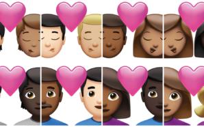 Des couples homosexuels interraciaux, une femme barbue, les nouveaux émojis…
