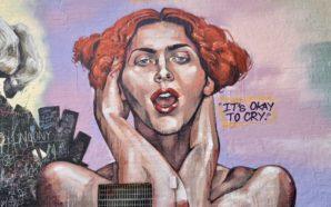 Une peinture murale rend hommage à l'artiste Sophie